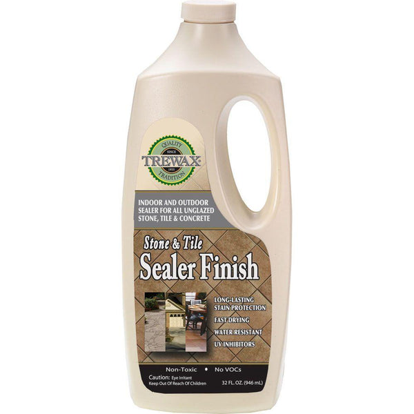 Trewax® 887142027 Indoor/Outdoor Stone & Tile Sealer Finish, 32 Oz