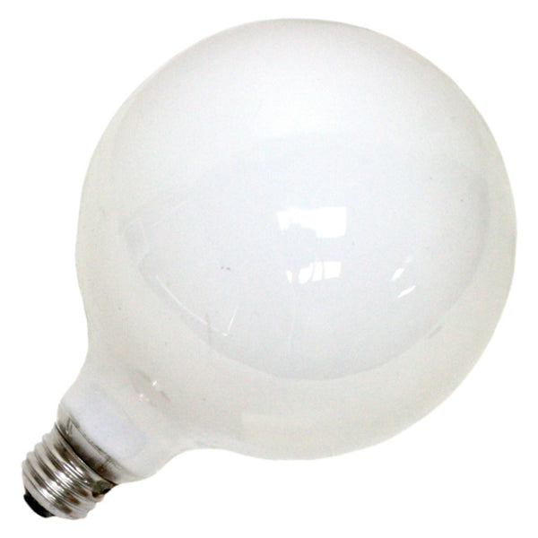GE Lighting 49781 Medium Base G40 Globe Light Bulb, Soft White, 100-Watt