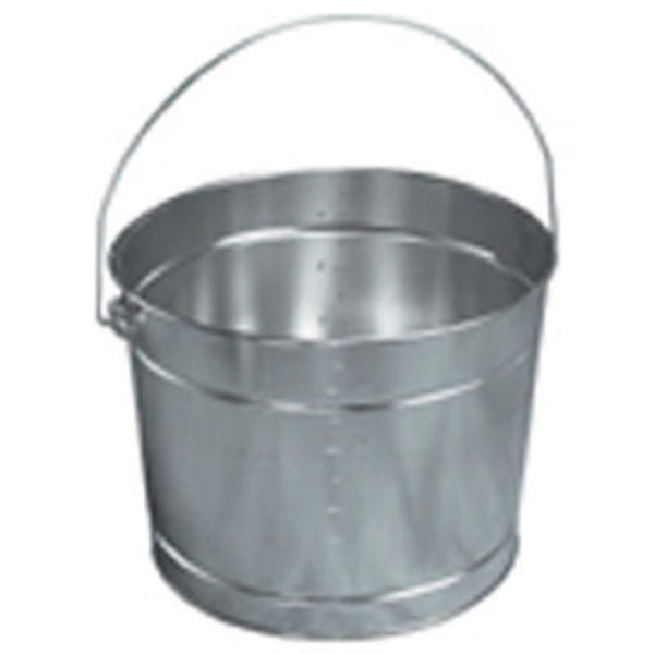 Leaktite 5-12 Double Ribbed Metal Paint Pail, 5 Qt