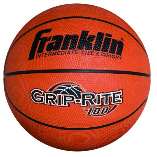 Franklin 7107 Official Size Basketball, GRIP-RITE High-Tack Rubber