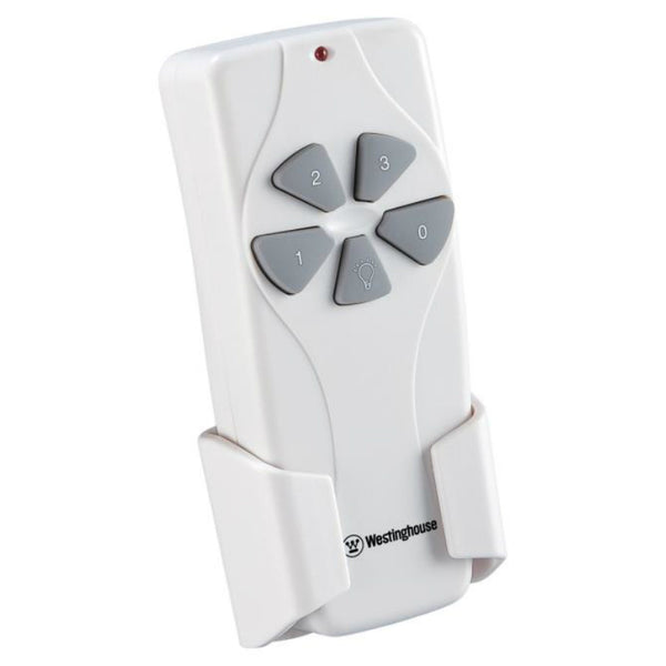 Westinghouse 77870 Ceiling Fan & Light Remote Control, White