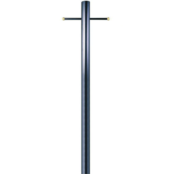 "Westinghouse 66808 Steel Outdoor Lantern Post with Ladder Rest, 80"", Black"