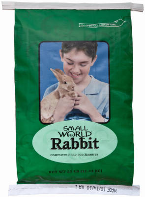 Manna Pro® 0047532232 Small World® High Quality Rabbit Feed, 10 Lb
