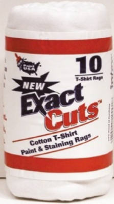 "Paint USA Exact Cut T-Shirt Paint & Staining Rags, 10-Count, 14"" x 16"""