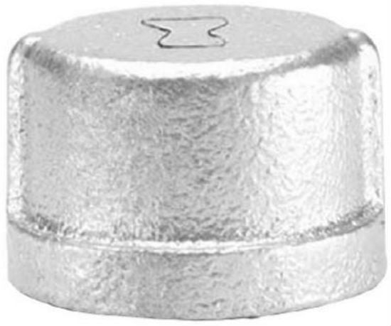 Anvil® 8700132502 Galvanized Pipe Cap, 1/8""