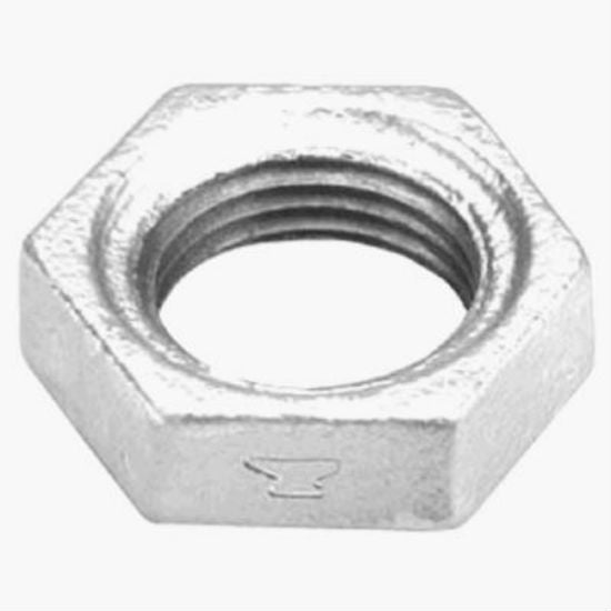 Anvil® 8700162509 Galvanized Lock Nut, 1/2""