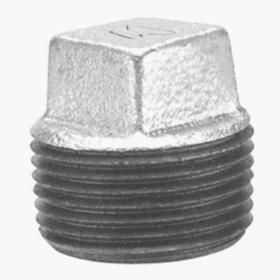 Anvil® 8700160057 Galvanized Plug, 1-1/2""