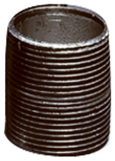"Anvil® 8700153557 Galvanized Pipe Nipple, 1-1/4"" x 18"""