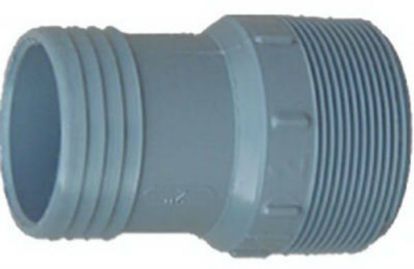Genova 350414 Poly Pipe Adapter, MIP x Insert, 1-1/4""