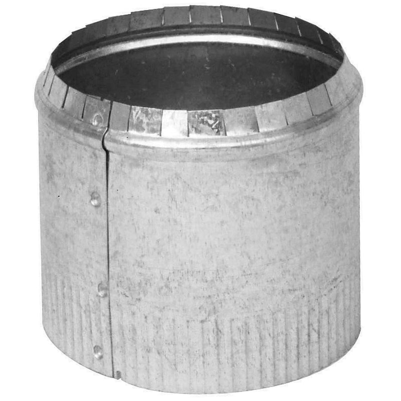 Imperial GV0838 Crimped Round Top Collar, Galvanized, 30 Gauge, 3""