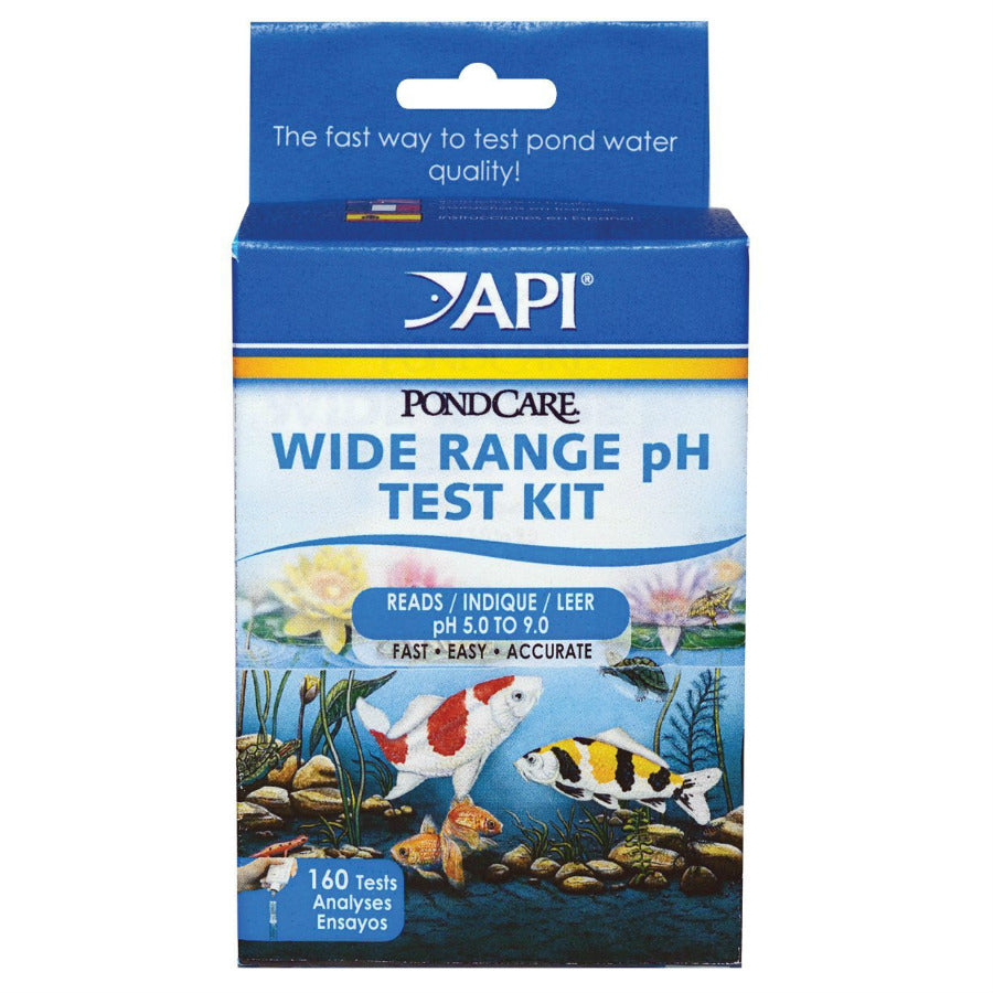 API® 160 PondCare® Wide Range Liquid pH Test Kit