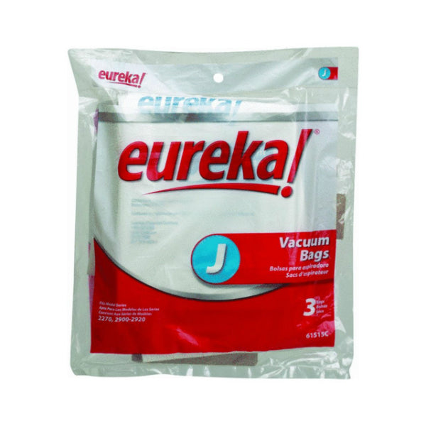 Eureka® 61515C Style J Disposable Vacuum Cleaner Dust Bag, 3-Pack