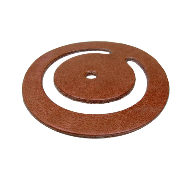 "Water Source™ PPL-503 Flat Valve Leather for Pitcher Pump, 3-1/2"" x 2-7/8"""