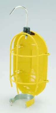 Alert Stamping Replacement Metal Trouble Light Bulb Guard, Yellow Coated