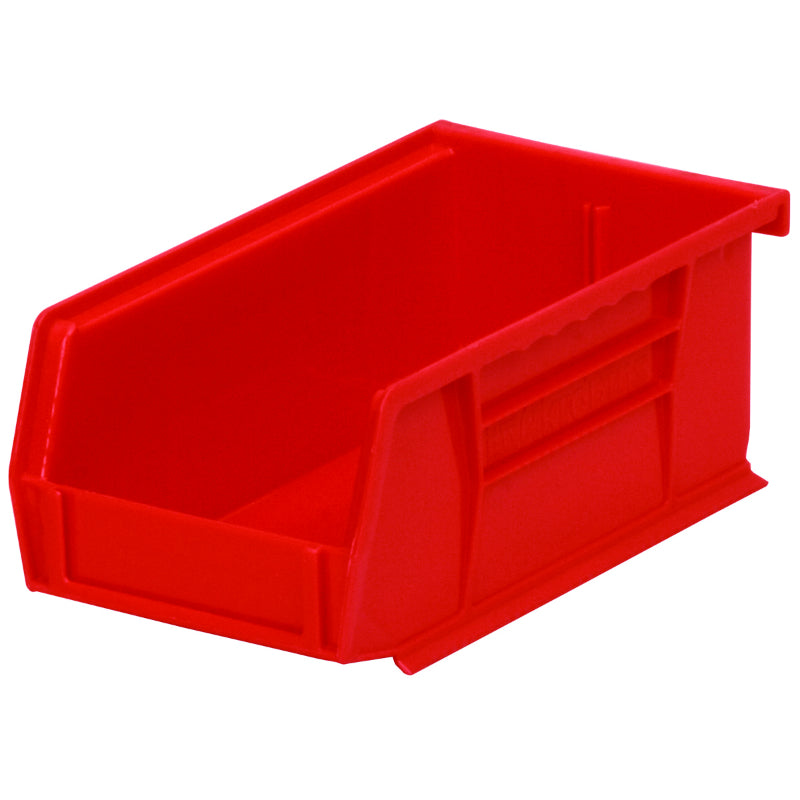 Akro Mils® 30220R AkroBin Extra Wide Stacking Plastic Storage Bin, Red