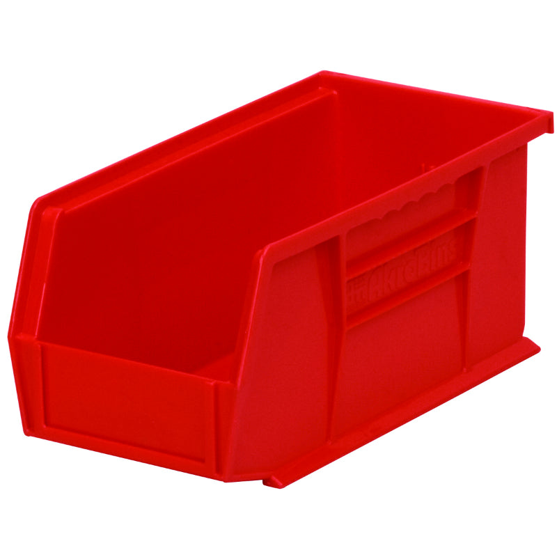Akro Mils® 30230R Akro Bin Extra Wide Stacking, 30 Lbs Weight Capacity, Red