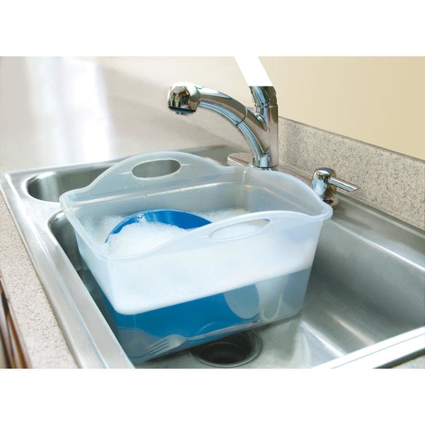 Rubbermaid® 2980-AR-FCLR Microban™ Smart Solutions Dishpan, Clear, 15.25 Qt