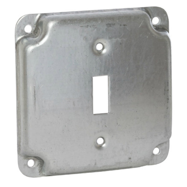 "RACO® 800C Single Toggle Switch 1/2"" Rise Box Cover, 4"""