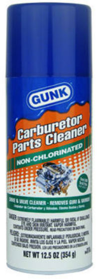 Gunk® M4815NC Non-Chloro Carburetor Cleaner, 12.5 Oz
