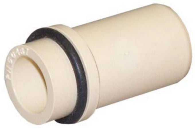 Genova 50465 CPVC Transition Fitting Beige For CPVC x Copper, 1/2""