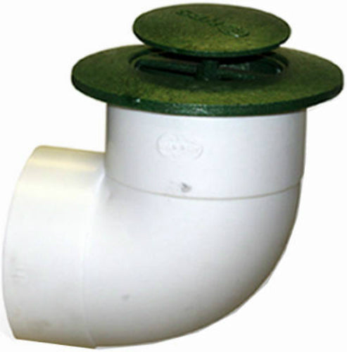 "NDS 322 Polyolefin Pop Up Drainage Emitter with UV Inhibitor, 3"" Center Drive"