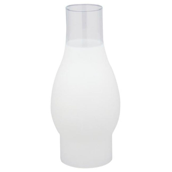 Westinghouse 83091 Handblown Frosted Glass Chimney, 8-1/2""