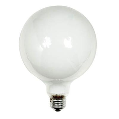 GE Lighting 36193 Decorative G40 Globe Globe Light Bulb, 75-Watt, Soft White