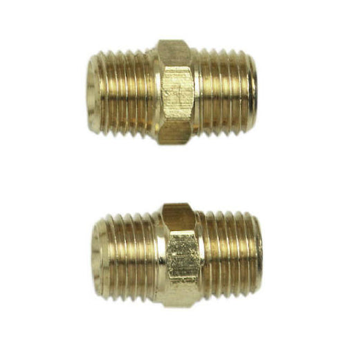 "Campbell Hausfeld MP2118 Male Coupling, 1/4"", 2-Pack"