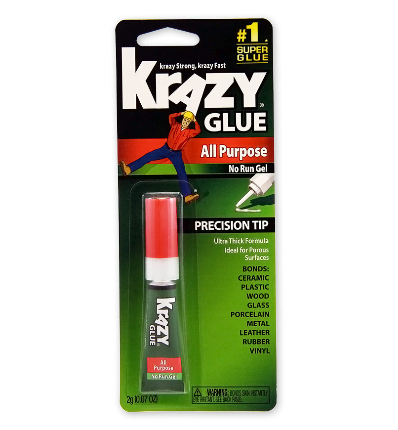 Krazy Glue® KG86648R All Purpose No Run Gel, 2-Gram