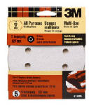 "3M 9145 Dust-Free 8-Hole Quick Change Disc 5"", Extra Fine 220 Grit, 5-Pack"