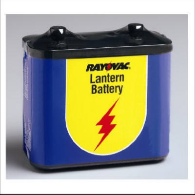 Rayovac 918 General Purpose Lantern Battery, 6V