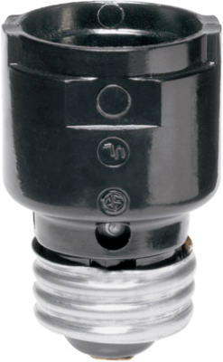 Pass & Seymour 1054 Socket Extension/Cluster, 15A, 125V, Black