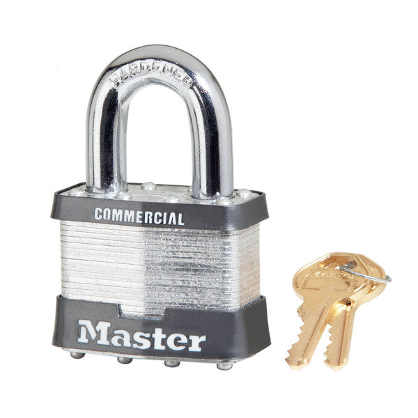 Master Lock 17KA High Security 5-Pin Laminated Padlock, 2""