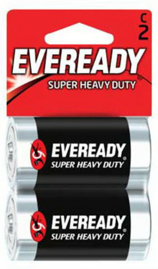 Eveready® 1235SW-2 Super Heavy Duty® C Battery, 2-Pack