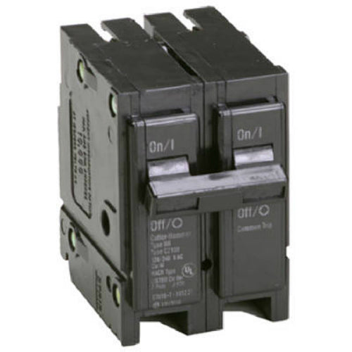 Eaton BR215 Double Pole Interchangeable Circuit Breaker, 15A