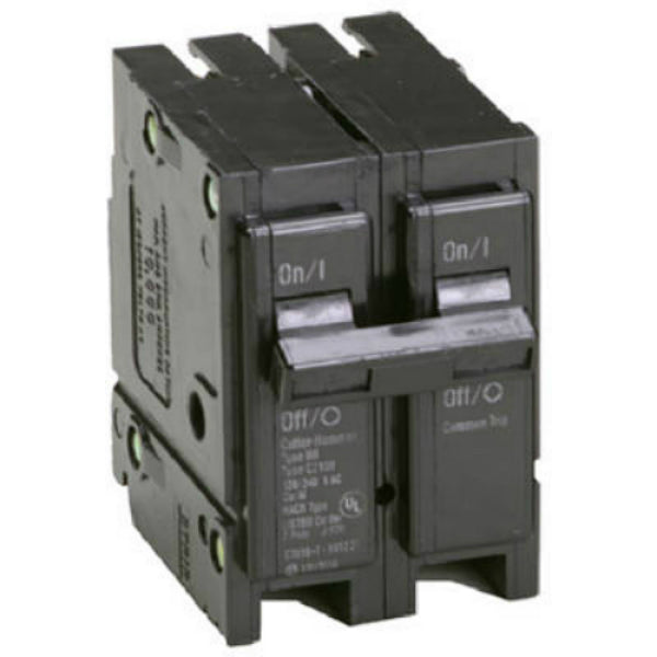 Eaton BR2100 Double Pole Interchangeable Circuit Breaker, 100A