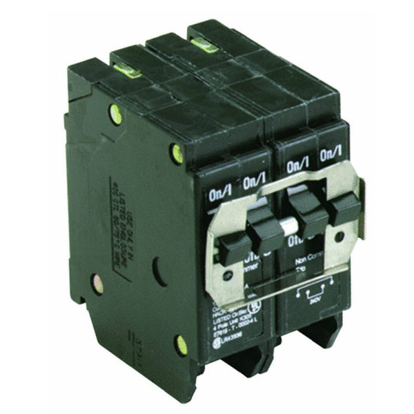 Eaton BQ230240 Double Pole Circuit Breaker, 30A-40A, 120/240V