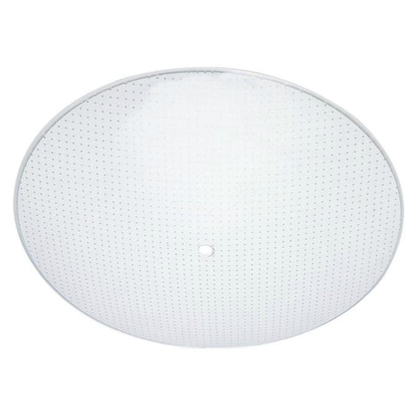 "Westinghouse 81819 Dot Pattern Round Glass Diffuser, 13"", Clear"