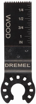 "Dremel MM440B Multi-Max Wood Flush Cut Blade, 3/4"", 3-Pack"