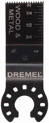 "Dremel MM422B Wood & Metal Flush Cut Blade, 3/4"", 3-Pack"