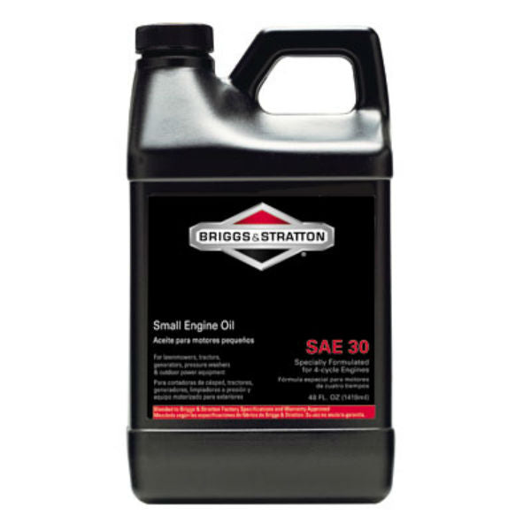 Briggs & Stratton® 100028 Lawn Mower SAE 30 4-Cycle Small Engine Oil, 48 Oz
