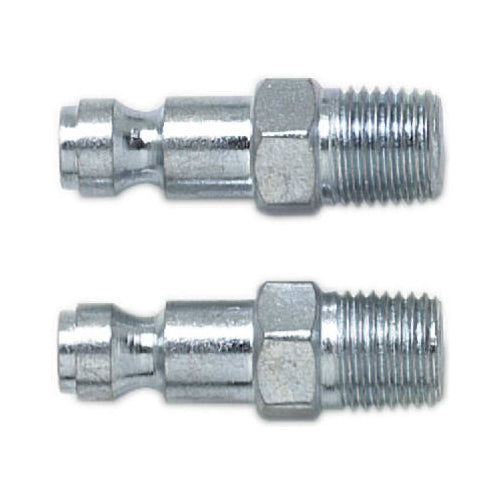 "Campbell Hausfeld MP3238 T-Style Series Automotive Plug, 1/4"" Male NPT, 2-Pack"