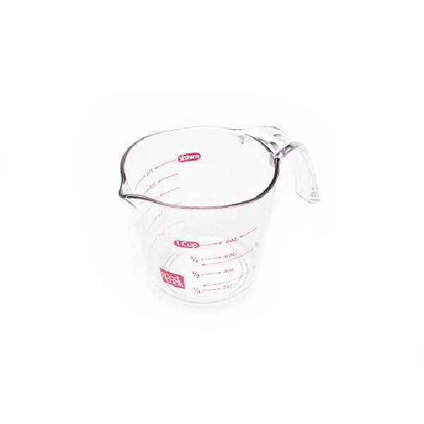 Good Cook™ 19863 Plastic Measuring Cup, Clear, 1-Cup Capacity