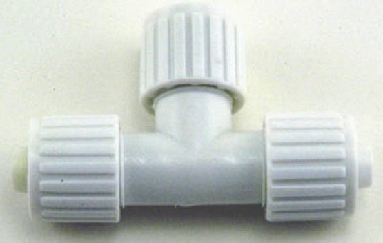 "Flair-It™ 16830 Tee for PEX or Polybutylene, 1/2"" x 1/2"" x 3/8"""