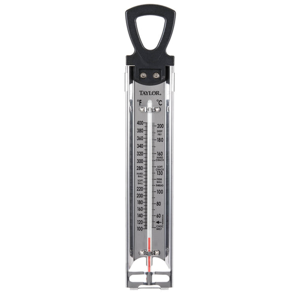 Taylor® 5983N Classic Candy & Deep Fry Thermometer, Stainless Steel, 12""