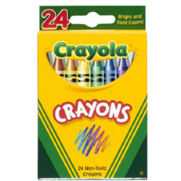Crayola 52-3024 Crayons In Tuck Box, 24-Count