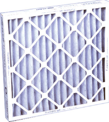 "Flanders 84355-021625 Pre-Pleat 40 Economy Air Filter, 16"" x 25"" x 2"""