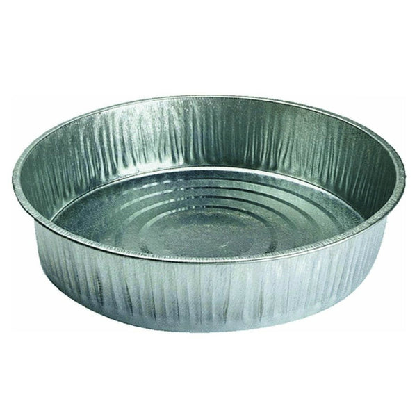 S & K Products 17007 General Purpose Galvanized Steel Utility Pan, 13 Qt Capacity
