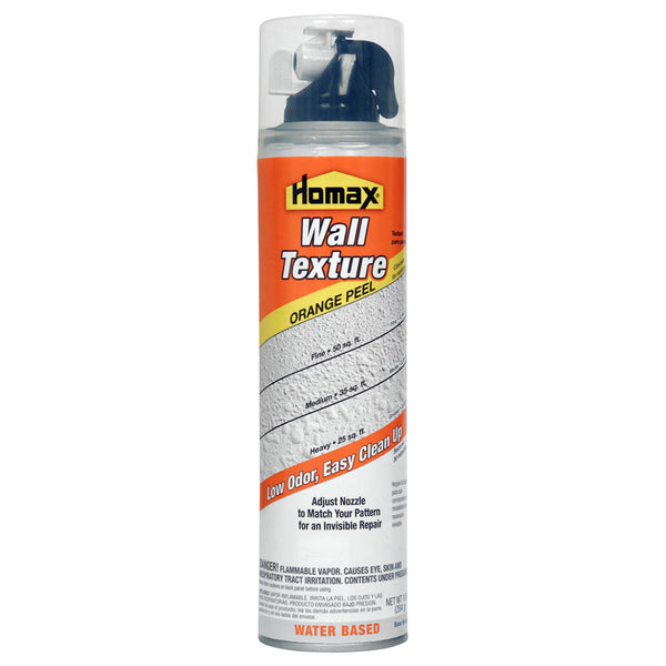 Homax® 4091-06 Aerosol Orange Peel Wall Texture, Water-Based, 10 Oz