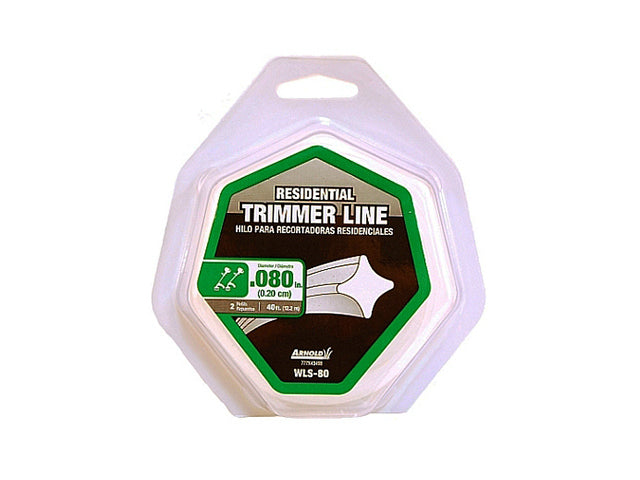 Arnold® WLS-80 Residential Trimmer Line, 40' x 0.080""